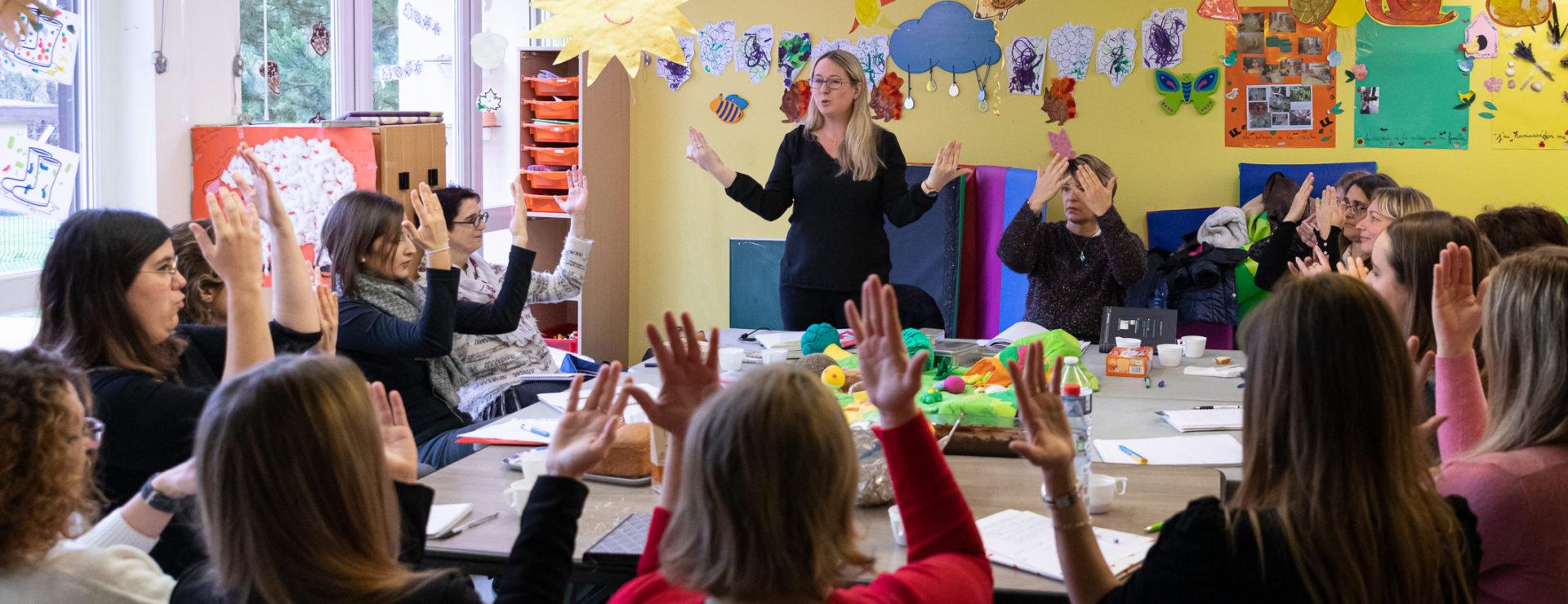 formation en communication gestuelle